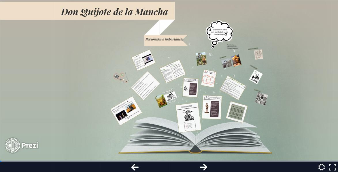 don quijote: personajes e importancia