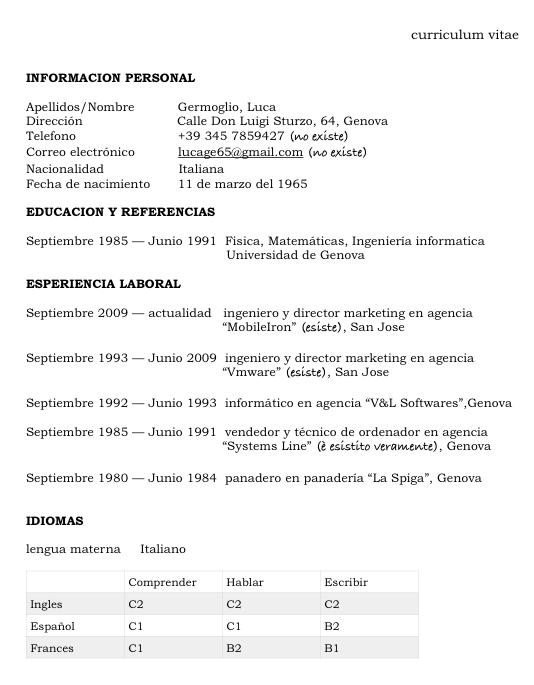 modelo-de-curriculum-vitae - lenguaje y otras luces