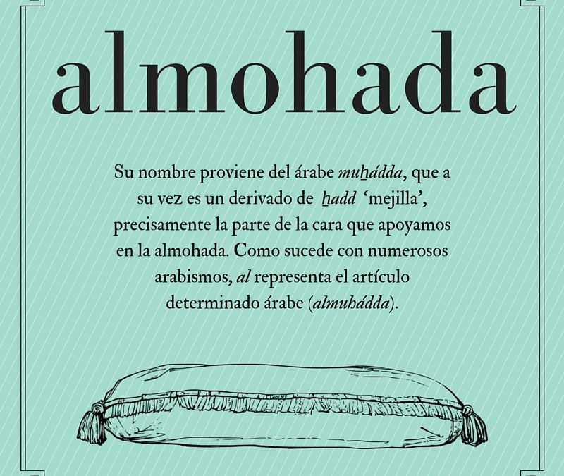 El origen de… almohada